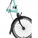 Vélo pliant BROMPTON Black Edition M6L Noir/Turkish Green