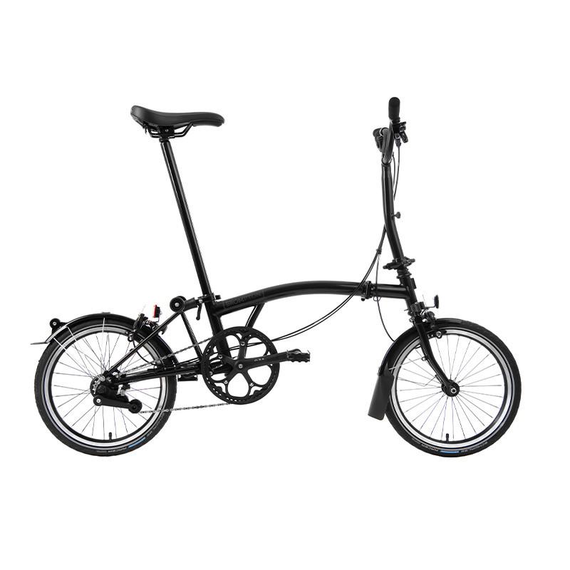 Vélo pliant BROMPTON Black Edition M6L Noir/Noir
