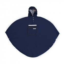Poncho pluie urbain THE PEOPLE'S PONCHO 3.0 Bleu