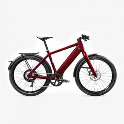Vélo électrique rouge rapide (speed bike) STROMER ST3 Edition Anniversaire Samsung Lithium-ion