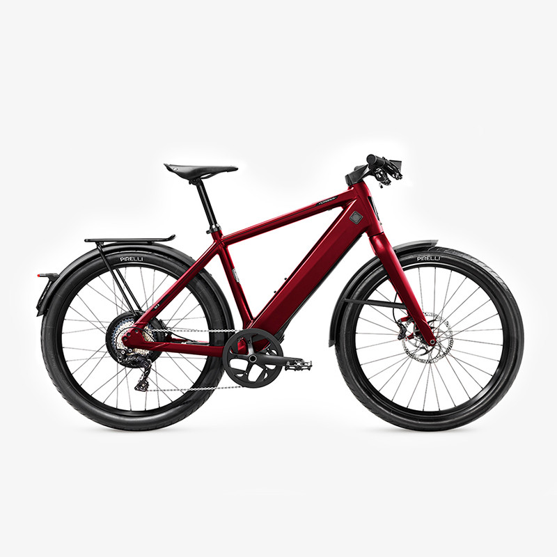 Vélo électrique rouge rapide (speed bike) STROMER ST3 Edition Anniversaire