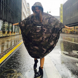 Poncho pluie urbain THE PEOPLE'S PONCHO 3.0 Edition Limitée Camo