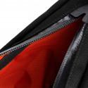 Sacoche tube de cadre tissu noir attache velcro Restrap