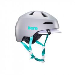 Casque vélo BERN Brentwood 2.0 Gris/Azur