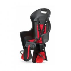 Siège bébé vélo POLISPORT fixation facile porte-bagage 9 à 22kg
