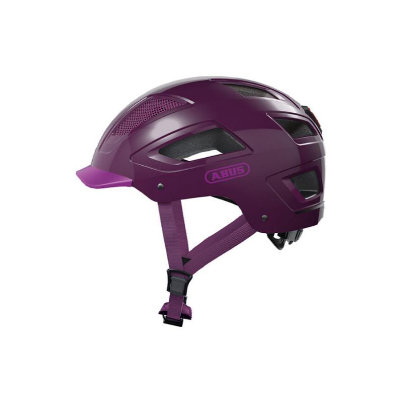 Casque vélo design violet ABUS Hyban 2.0