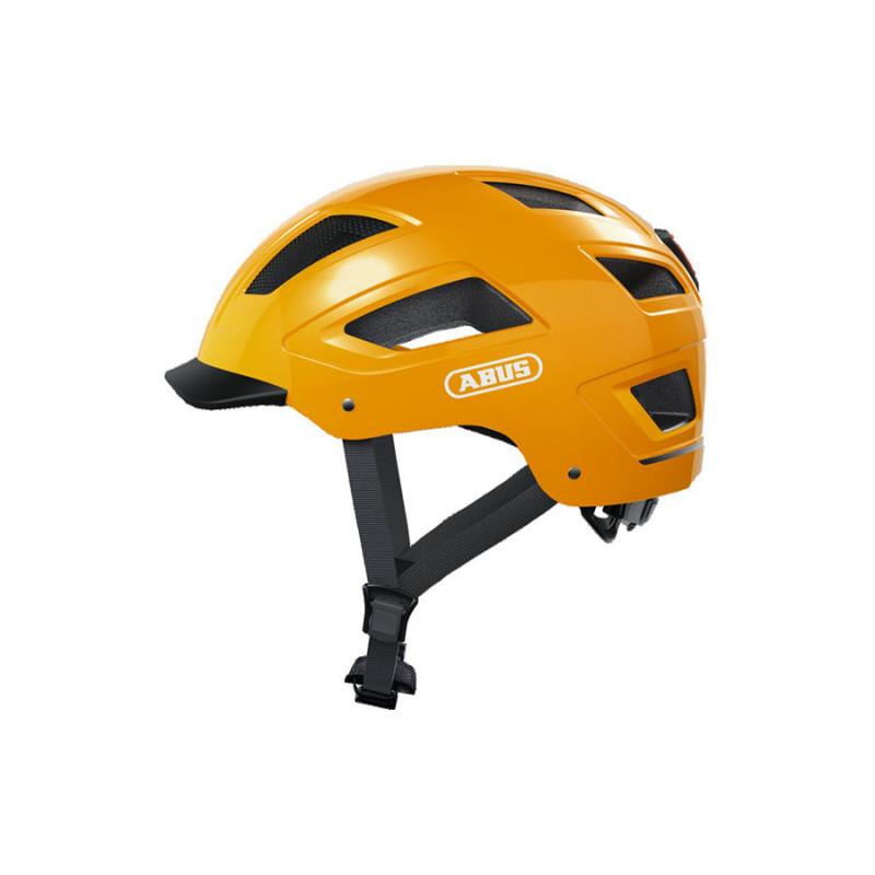 Casque vélo ABUS Hyban 2.0 Jaune Taxi