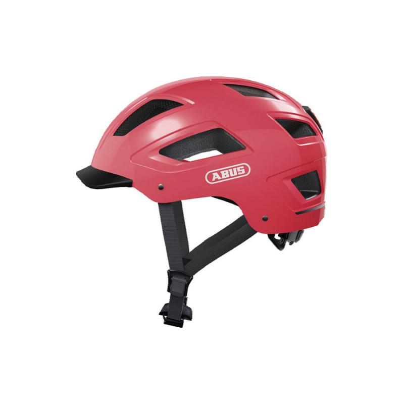 Casque vélo corail ABUS Hyban 2.0