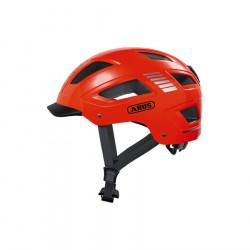 Casque vélo urbain Hyban 2.0 Orange Fluo