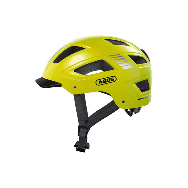 Casque vélo ABUS Hyban 2.0 jaune fluo