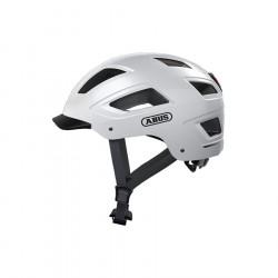 Casque vélo ABUS Hyban 2.0 blanc polaire