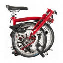 Vélo pliant BROMPTON M6L House Red M6LF/HRD/HRD/BAT3/FCB/REV
