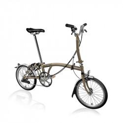 Vélo pliant BROMPTON M6L Raw Lacquer