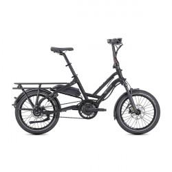 Vélo cargo électrique compact Tern HSD S8i black
