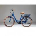 Vélo de ville électrique Beaufort Tavulia Bleu électrique