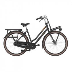 Vélo hollandais traditionnel noir GAZELLE HeavyDutyNL 7V