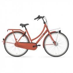 Vélo hollandais cadre bas GAZELLE PuurNL 7V Rouge Terracotta