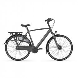 Vélo de ville GAZELLE cadre haut Orange C7+ 7V Noir Mat