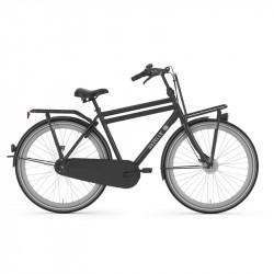 Vélo hollandais homme traditionnel GAZELLE PuurNL 7V Noir Mat