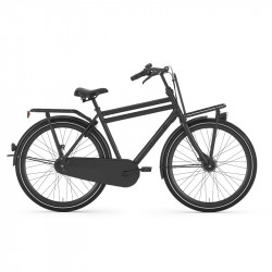 Vélo hollandais cadre haut GAZELLE PuurNL 7V Edition Midnight