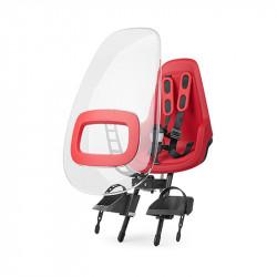 Pare brise siège vélo bébé rouge BOBIKE One et One plus