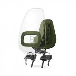 Pare brise siège vélo bébé vert BOBIKE One et One plus