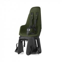 Siège bébé vélo porte-bagage BOBIKE One Maxi Vert Foncé 9 à 22kg