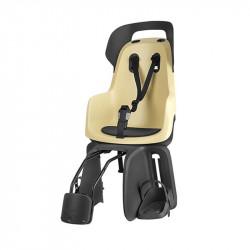 Siège vélo bébé sur cadre BOBIKE Go Maxi Citron jusqu'à 22kg
