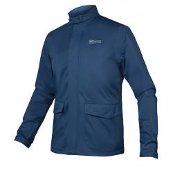 Veste de pluie coupe vent Brompton bleu par Endura
