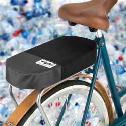 Coussin porte-bagage vélo tissu recyclé URBAN PROOF noir gris