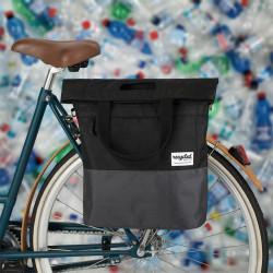 Sacoche vélo commuter shopping 20L URBAN PROOF noir gris