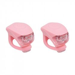 Petites lumières LED silicon URBAN PROOF rose pâle