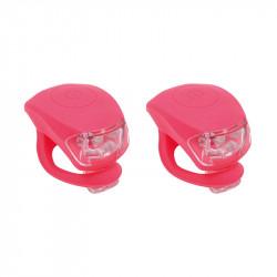 Petites lumières LED silicon URBAN PROOF rouge pâle
