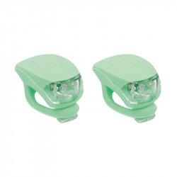Petites lumières LED silicon URBAN PROOF vert pâle