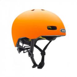 Casque vélo orange mat NUTCASE Street Hi Viz