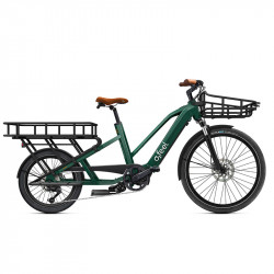 Vélo cargo long tail électrique O2Feel Equo Power 4.1