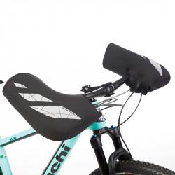 Manchons vélo noir TUCANO URBANO pour guidon Mountain