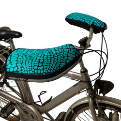 Manchons vélo bleu TUCANO URBANO pour guidon City
