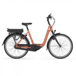Vélo électrique ville hollandais GAZELLE couleur cuivré Ami C7 HMS H7