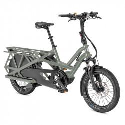 Vélo cargo électrique longtail TERN GSD S10 Vert Sage