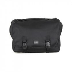 Sacoche tissu noir vélo pliant Brompton Metro Bag L - avec bloc de fixation