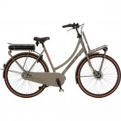 Vélo électrique hollandais de ville moteur pédalier CORTINA E-U4 Solid 7v