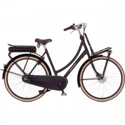 Vélo électrique de ville noir CORTINA E-U4 Moteur Central