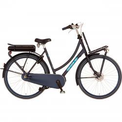 Vélo électrique moteur central bleu marine CORTINA E-U4 7v