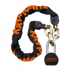 Antivol vélo chaîne KRYPTONITE Messenger Chain & Molly - 100cm