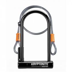 Antivol vélo U KRYPTONITE Keeper 12 STD avec câble