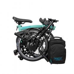 Vélo pliant électrique BROMPTON - Turkish Green