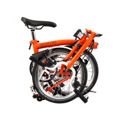 Vélo pliant BROMPTON M6L Signal Orange