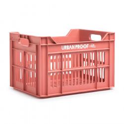 Caisse de transport vélo plastique 100% recyclé URBAN PROOF Rose Vintage