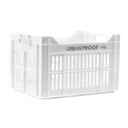 Caisse de transport vélo plastique 100% recyclé URBAN PROOF Blanc